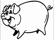 Coloriage Porc   Les beaux dessins de Animaux à imprimer