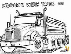 dump truck coloring pages dump trucks free
