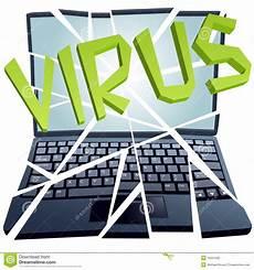 le virus d ordinateur casse la garantie pour tomber en