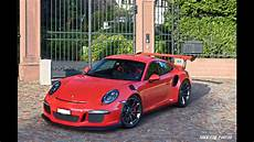 2015 porsche gt3 rs start up tunnel sound and launch