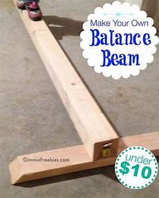 diy make a gymnastics beam at home 10 in no time