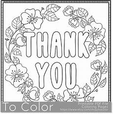 Thank You Card Template Pages thank you printable coloring page for adults pdf jpg