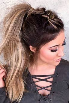 59 easy ponytail hairstyles for school ideas hairstyle haircut today