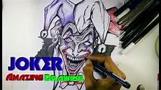 Amazing World Joker How To Draw Joker Drawing Speed