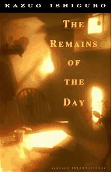 Of The Day - ishiguro the remains of the day can t stop writing