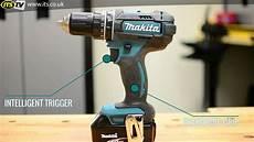makita dhp482 18 li ion combi drill demo its