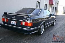 87 mercedes 560 sec amg only 73k w126 coupe