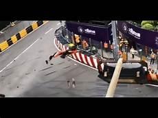 Formula 3 Driver Floersch Crash