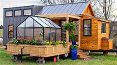 luxury country tiny home comes w separate pergola trailer w porch swing greenhouse youtube