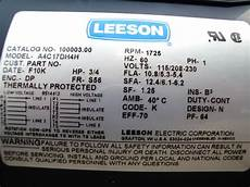 leeson motor wiring schematic impremedia net