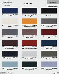 paint chips 2015 gm tahoe