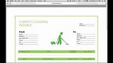 carpet cleaning receipt template make a carpet service cleaning invoice pdf excel