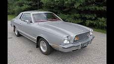 1976 ford mustang ii silver ghia edition youtube