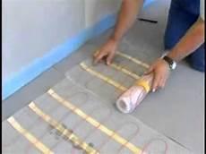 Fußboden Fliesen Verlegen - jollytherm elektr fu 223 bodenheizung rapid terraheat flv