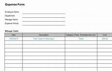 business expense form clergy coalition
