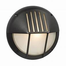 galaxy marine 11 125 in h black outdoor wall light at lowes com