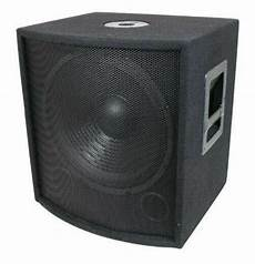 New 18 Quot Subwoofer Speaker Pro Audio Bass Woofer Live Sound
