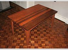 Custom Made Cherry And Walnut Dining Table by Fredric Blum