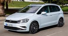 2018 vw golf sportsvan arrives in the uk with new and
