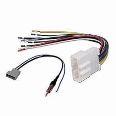 Car Cd Audio Stereo Wiring Harnes Antenna Adapter For Nissan by Car Stereo Cd Player Wiring Harness Radio Antenna