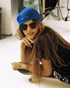skater girl style wannab sk8tr gurl hair styles long