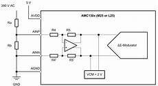 8 Metering Wiring Schematic by Using Delta Sigma Modulators For Isolated High Voltage