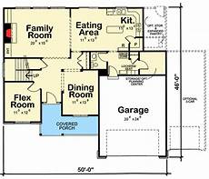4 bed house plan with laundry upstairs 42384db