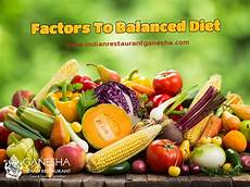 factors to balanced diet healthy eating restaurant ganesha amsterdam