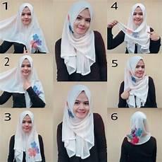 Trik Cepat Cara Memakai Jilbab Segi Empat Sederhana Yang