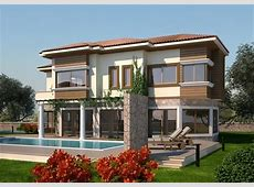 New home designs latest.: Modern villas exterior designs