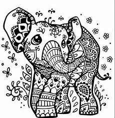 Ausmalbilder Elefant Mandala Olifantje Olifant Tekening Kleurplaten Mandala Kleurplaten