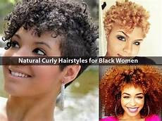 Hairstyles For Black Naturally Curly Hair