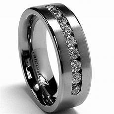 buy titanium wedding rings for men