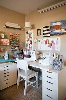 my super small sewing space small craft rooms small