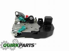 98 03 dodge durango 00 04 dakota rear left power door lock latch actuator mopar ebay