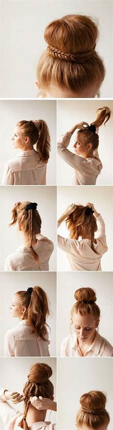 15 easy step by step hairstyles for long hair the