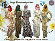Hijab / long sleeved maxi dress   I started this    The