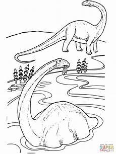 Malvorlagen Dinosaurier Hd Apatosaurus Ausmalbilder динозавры Dibujo De