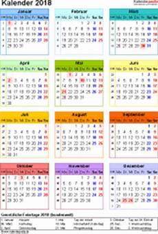 mini kalender 2018 kalender 2018 zum ausdrucken als pdf 16 vorlagen kostenlos