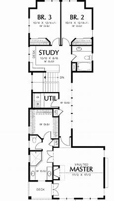 two storey narrow lot house plans unique 2 story narrow lot plan 69090am architectural