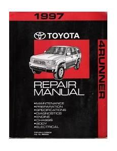 car repair manuals online pdf 1997 toyota 4runner parental controls 1997 toyota 4runner factory repair manual
