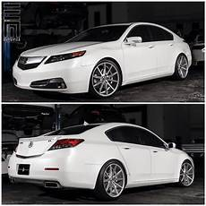 acura tl lowered on 20 inch vossen vfs1 wheels need a
