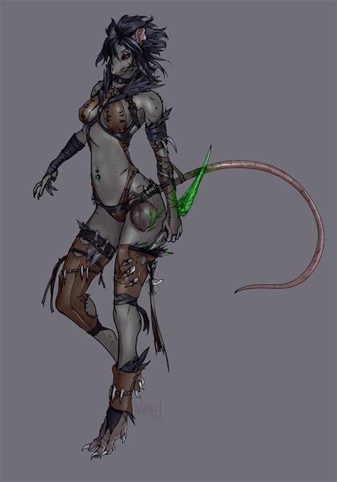 Warhammer Skaven Female