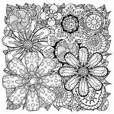 Malvorlage Erwachsene Blumen Blumen 2 Ausmalbilder F 252 R Erwachsene