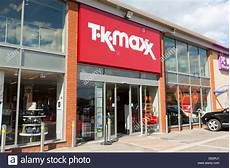 t k maxx store in uk stock photo 60298729 alamy