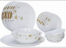 CORELLE Pack of 20 Dinner Set Price in India   Buy CORELLE