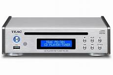 lecteur cd design lecteur cd teac pd301 silver 4219929 darty