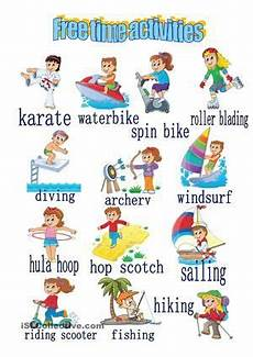 leisure time esl worksheets 3799 free time activities buscar con activities