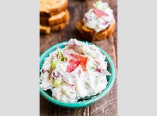 dried beef and horseradish dip_image