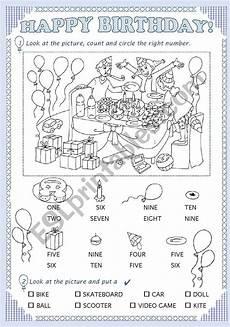 happy birthday worksheets esl 20219 happy birthday esl worksheet by chiaretta